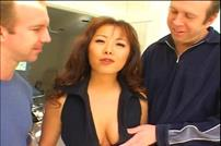 Hot Asian MILF Anal Threesome
