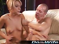 Amber Wild takes a huge cock