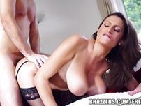Brazzers  Hot Milf Jane shows off her big tits
