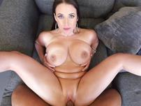 Busty natural MILF Angela White getting fucked in POV