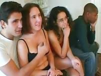 Interracial french sex