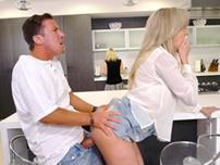 Mom does not notice son fucking her friend Brandi Love