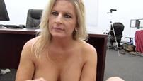 Skillful milf is wanking a nice dick in the video by Backroom Casting Couch
