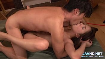 Screwing cheating housewife in her living room