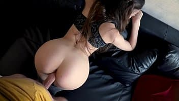 Busty nymph Layla London in ripped jeans got her pussy pounded
