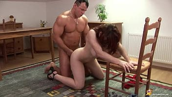 Pussy and anal creampies